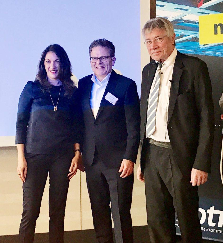 RA Achim Carius und Prof. Dr. Horst Zuse (v. l. n. r.)