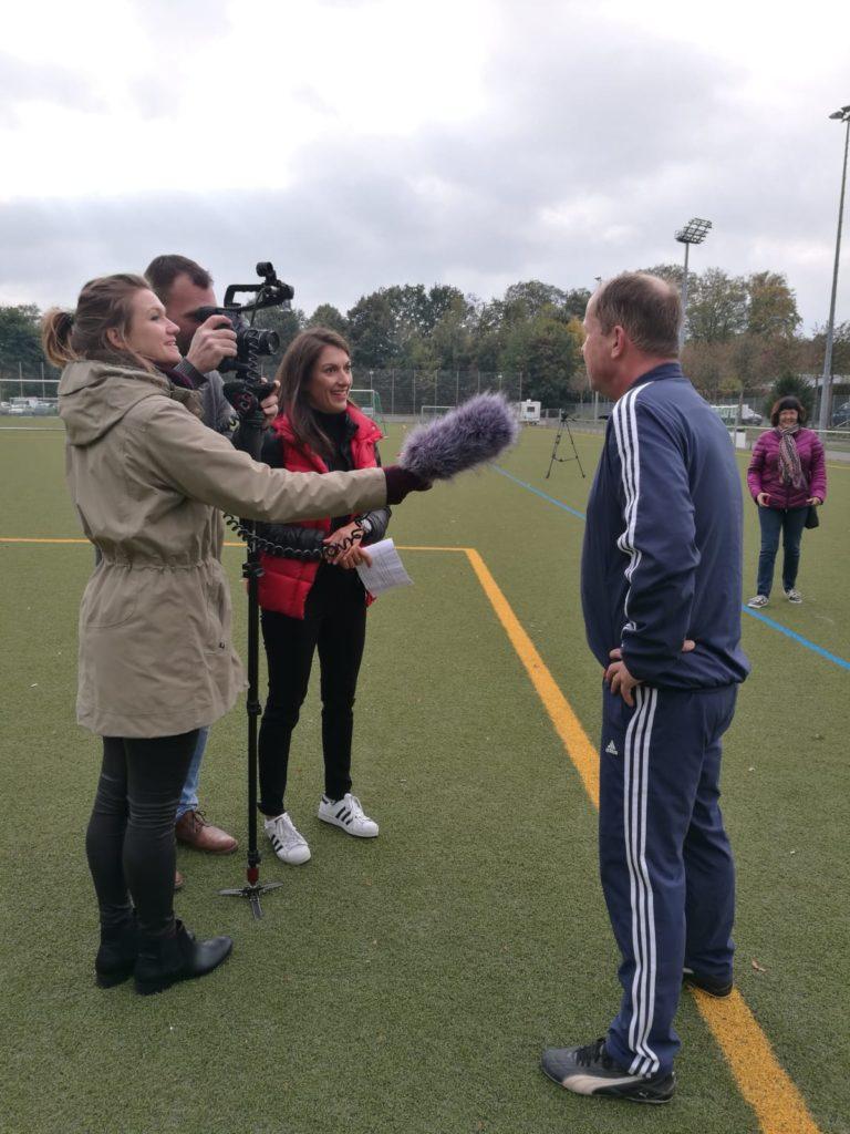 Im Interview mit dem Fußballbegeisterten Minister Joachim Stamp